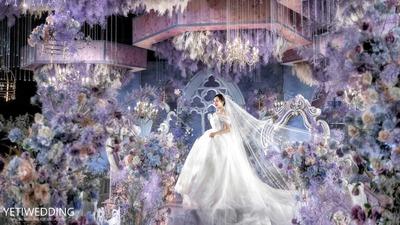 """我们把这场婚礼命名为""""莫奈的花园"""""""