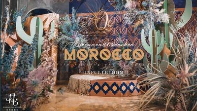 摩洛哥风格 | 用油画风描绘你的一千零一夜