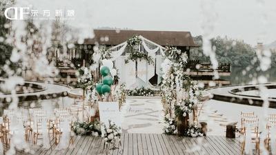 复古户外婚礼