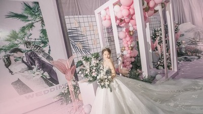 火烈鸟主题婚礼