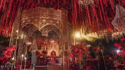 奢华欧式宫廷风婚礼