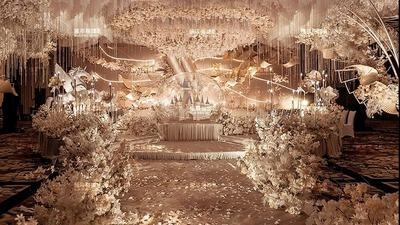 香槟浪漫城堡婚礼