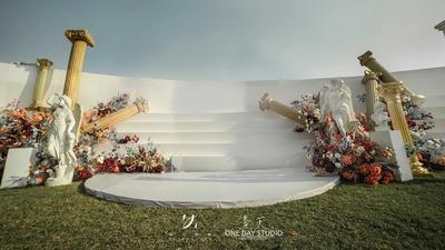 这场婚礼来自古希腊神话的诱惑
