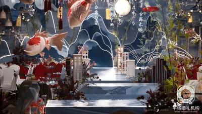 时间从来不语,却见证了所有的深情!中国风婚礼