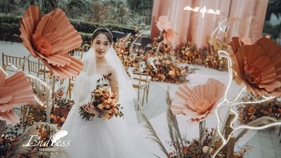 珊瑚粉色系婚礼