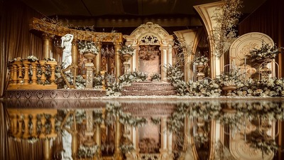 vintage巴洛克风婚礼,为了你,我把凡尔赛宫搬到婚礼现场