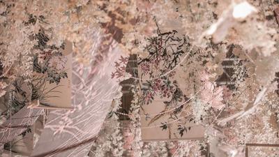 素韵,银粉色新中式婚礼