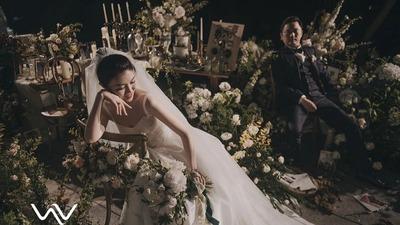 """这是一场命名为""""To the end""""的主题婚礼"""