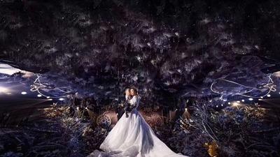 浪漫星空主题婚礼