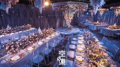 我在时空尽头等你,像风也像雨,梦幻粉蓝色婚礼