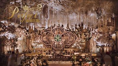 香槟色欧式婚礼