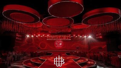 40米的婚礼舞台,灵感居然来源于瓢虫