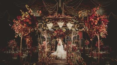 拥有这场复古风婚礼,你也可以是奥黛丽赫本