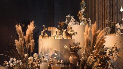 山河远阔,人间烟火,复古质感婚礼