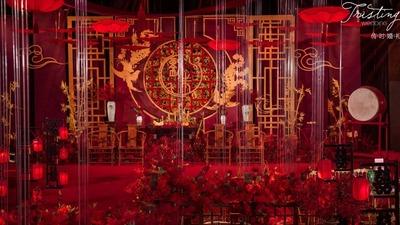 中式婚礼,古典余韵,现代年轻人的回归之旅。