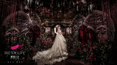 哥特风也可以浪漫而神圣!