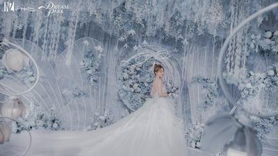 冰蓝色系婚礼