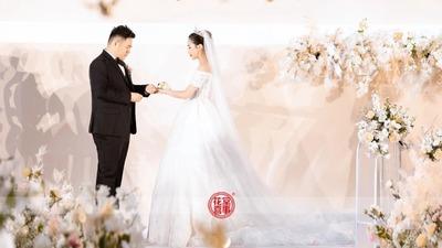 高级时尚婚礼