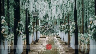 森林里的婚礼