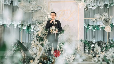 圣洁的白色系婚礼