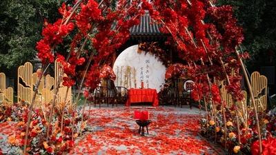 中式户外婚礼