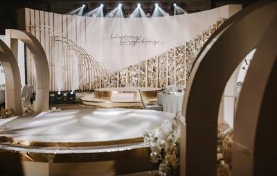 一秒爱上的泰式香槟色婚礼