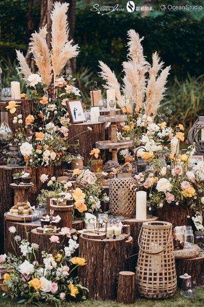 美式风情户外婚礼