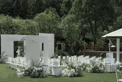 夏日微风小清新主题婚礼