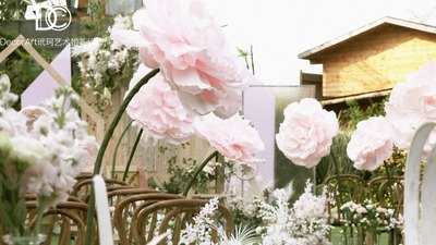 DecorArt法式玫瑰花园婚礼