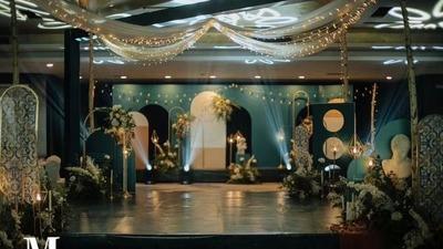 墨绿色系婚礼