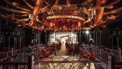 这场《花好月圆》新中式婚礼,美得像一幅画