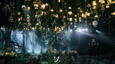 一场回归自然的森系婚礼