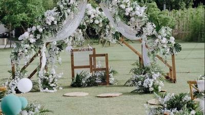 小清新草坪婚礼