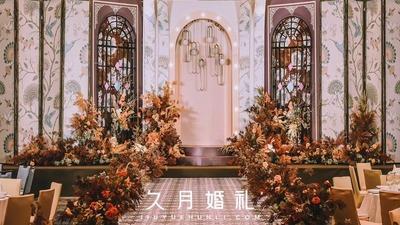 复古风主题婚礼