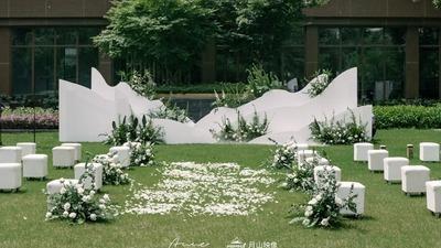 白绿色系婚礼