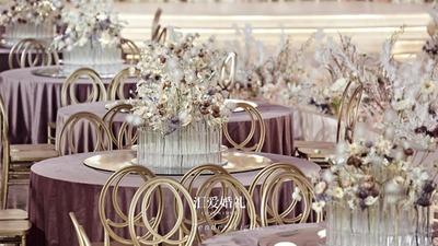 助力婚尚发布,汇爱团队婚礼堂设计新尝试