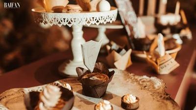 爱惨了这场奶茶色温柔婚礼,单纯却透露着高级的色调