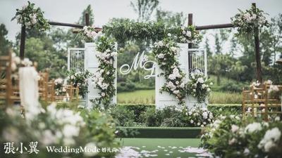 一场英伦腔调花园婚礼,奇幻的绿野仙境