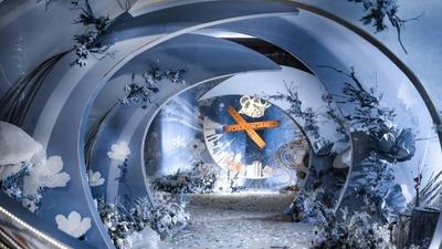 浅蓝色童话婚礼,童话般的美妙奇迹