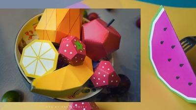 低预算的精致宝宝宴,水果和波普风融合的童趣宝宝宴