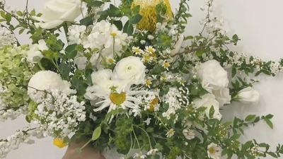 婚礼捧花的备婚攻略,不同气质的捧花集合