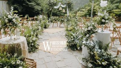 自然清新的民族风户外婚礼,一起寻找山野间的浪漫