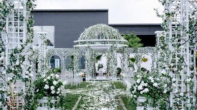 欧式宫廷风草坪婚礼