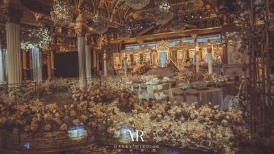 文艺复兴的纯欧式婚礼,精致奢华的巴洛克风格