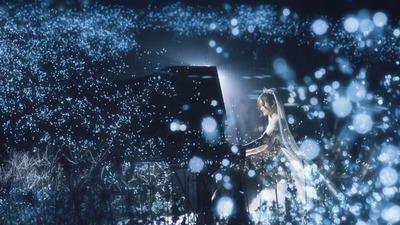 一场充满童趣和诗意的婚礼,来自深蓝色星空的古老永恒