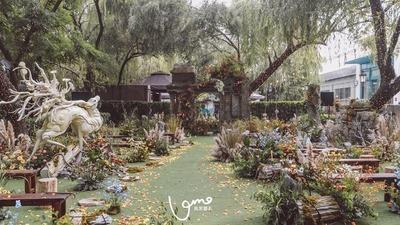 复古风花园婚礼