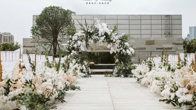 露台户外婚礼