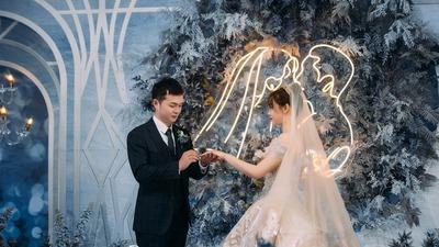 星空浪漫主题婚礼