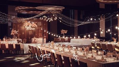 深香槟色系婚礼
