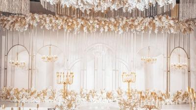 打造一场与夏天有关系的婚礼,室内也可以变成海岛